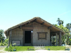what we want to see? reconstructed ritual house in tafalong