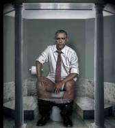 Obama nude
