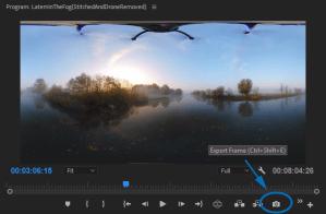 Remove DJi Mavic 2 drone from Insta360 OneX footage …