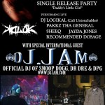 Fri. Jan 7,2011/K.D. Lok Single Release Party feat. DJ JAM