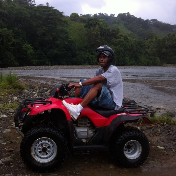COSTA RICA ATV RAINFOREST