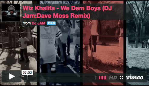 """NEW VIDEO"" Wiz Khalifa ""We Dem Boyz"" (DJ Jam/Dave Moss Remix)"