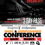 "Complimentary DJ registration for ""Back 2 Basics"" Urban Network Conference June 4 – 7th"