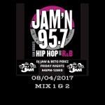 DJ Jam Radio Mix 08/04/2017 Mix 1 & 2 #DJJAM #WEEKLYRADIOMIXES #JAMN957