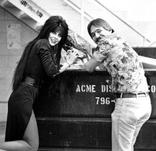 Elvira & Freddy Going Over Material For Her Show