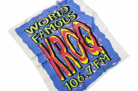 KROQ beach towel