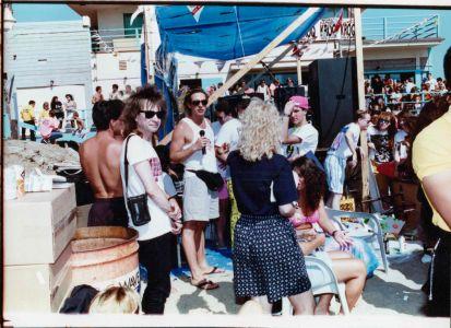 Michael Penn KROQ Malibu beach remote, cir89