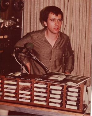 Peter Gabriel at KROQ Pasadena in 1982