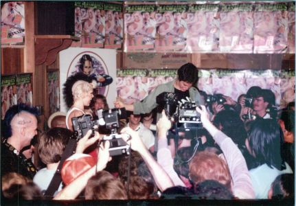 Plasmatics in-store appearance at Licorice Pizza cir81
