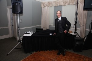 Johnny Only wedding DJ and MC at the Traditions 2010