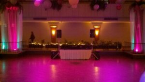 MC/DJ at McKinley with Uplighting