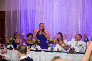 Wedding Maid of Honor Toast to the bride and groom