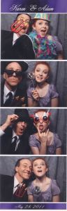 Full photo strip johnny and mikayla photobooth
