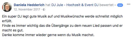 DJ Hamburg buchen für Hochzeit & Event - DJ Jule