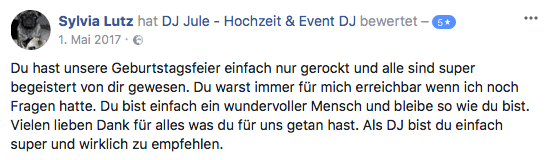 Erfahrener DJ aus Hamburg für Ihre Hochzeit und Event - rund um Hamburg