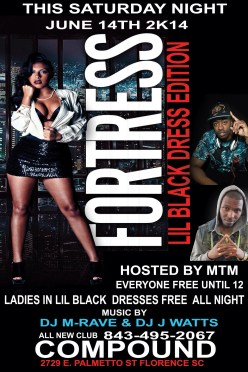 This Saturday Club Compound, FLORENCE SC Lil Black Dress Edition