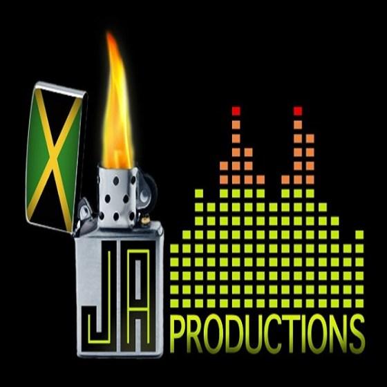 Overdrive riddim JA Productions Logo