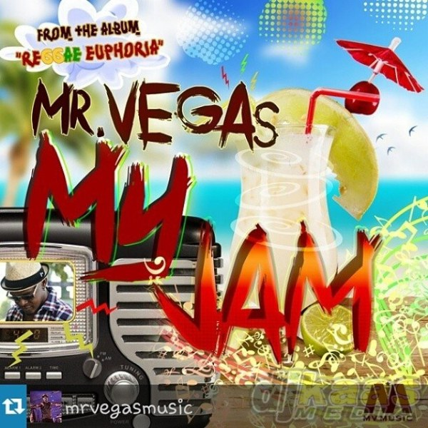 Mr Vegas - My Jam Artwork