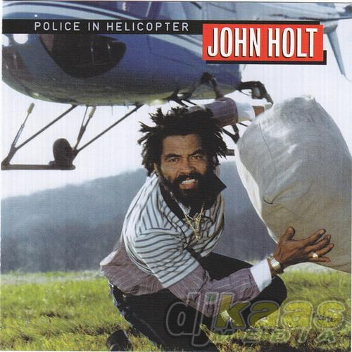 John Holt police in helicopter album cover.