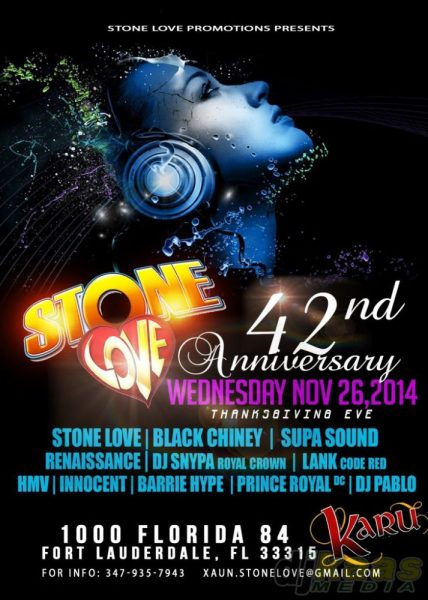 Stone Love 42nd Anniversary Culture Mix (100% Dubplates)