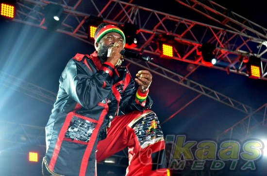 Capleton gave a solid performance on Jamworld in Portmore.
