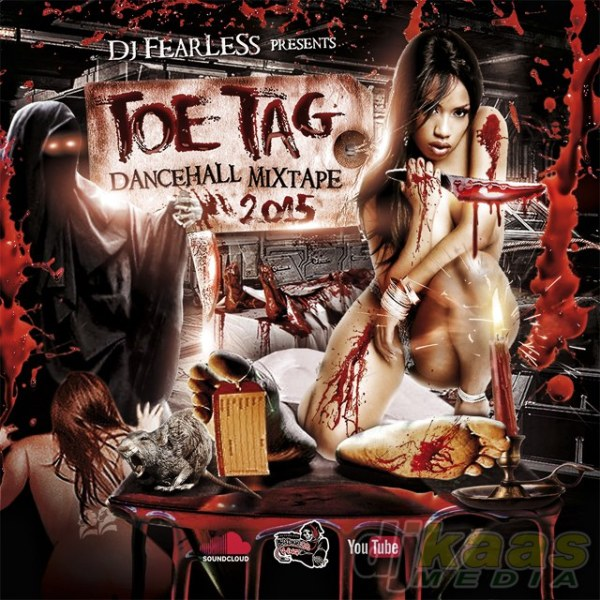DJ FearLess - Toe Tag Mixtape - Cover