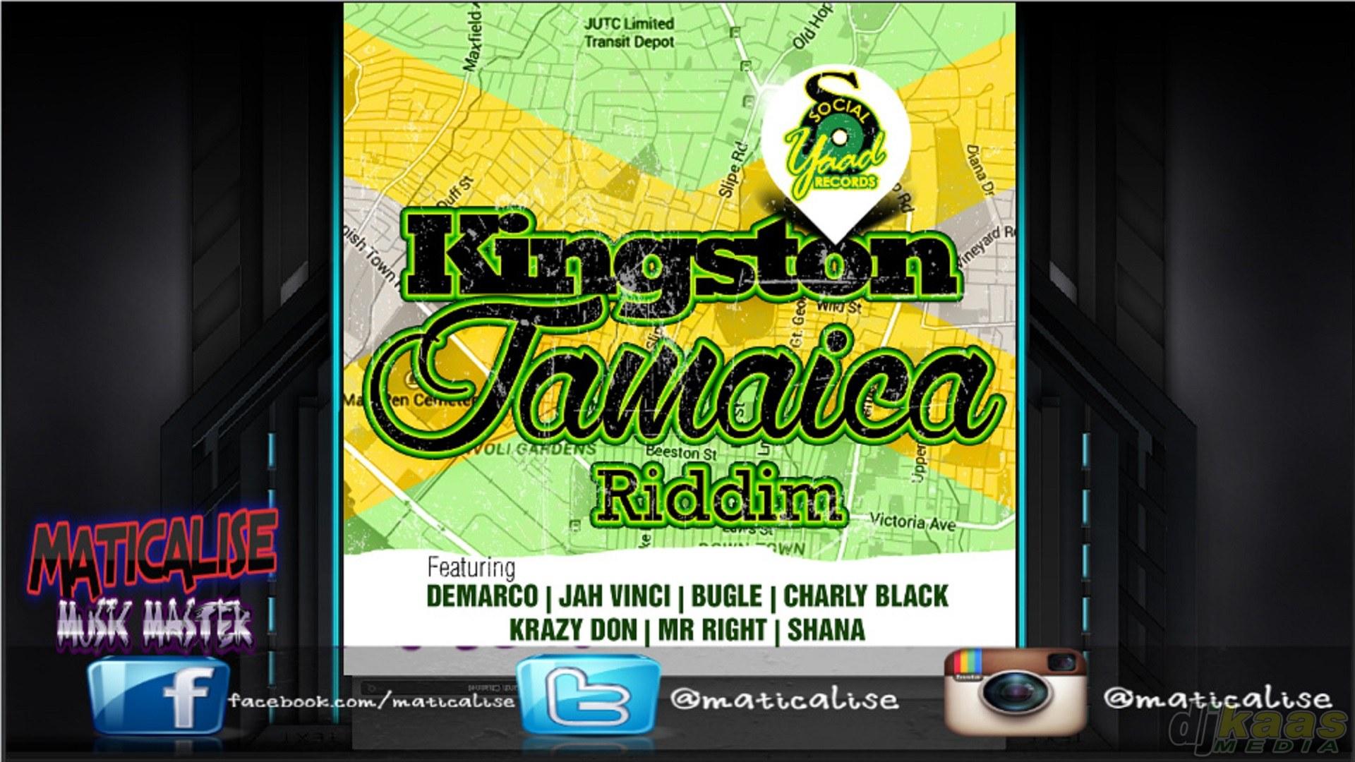 Kingston Jamaica Riddim Mix (Social Yaad Records) April 2015