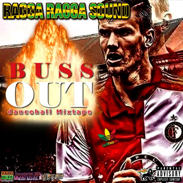 Alternative cover for the BUSS OUT Mixtape