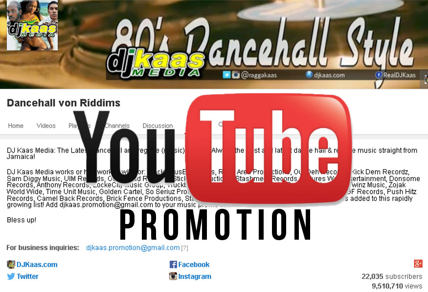 Dj Kaas Media: Dancehall and Reggae music promotion to the world!