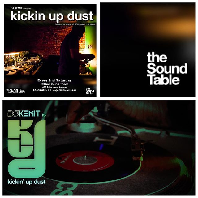 KickinUpDust The AllVinyl 45RPM NoLaptopNeeded THROW DOWN returns THIS Saturday Oct. 8th 11pm @thesoundtable - With the unfortunate passing of RodTemperton & Kashif ( RestInMusic) I will be featuring selections from each of their catalogs along with 80sBoogie selections to commemorate the sound that these MusicalMasters brought forth to human kind. See you on the dance floor!