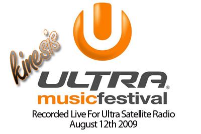 Kinesis - Ultra Music Festival (Ultra Satellite Radio)