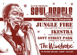 Soul Rebel_Fela_xmasparty_2013_A6-front_web