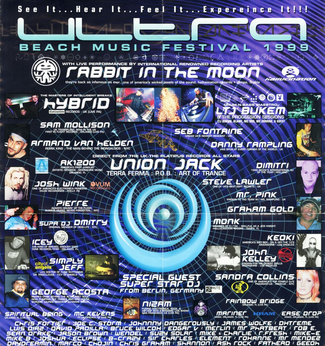 MUST WATCH: Flashback to 1999 with Ultra Miami's throwback footage from the vaultMiami Flyer 1999