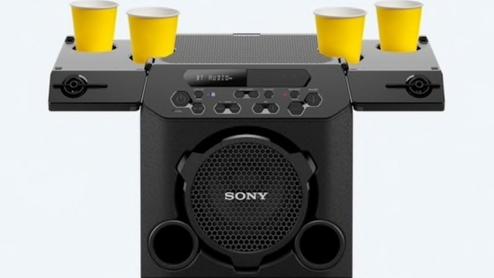 Sony bluetooth speaker cup holder
