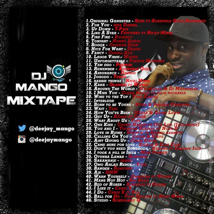 Latest Naija DJ Mix: The Mixtape - DJ Mango - DJ Mixtapes