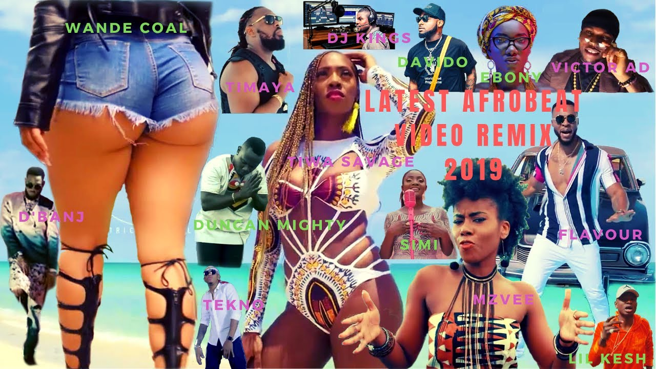April 2019 Mixtape] DJ Kings - Naija Afrobeat Video Mix - DJ