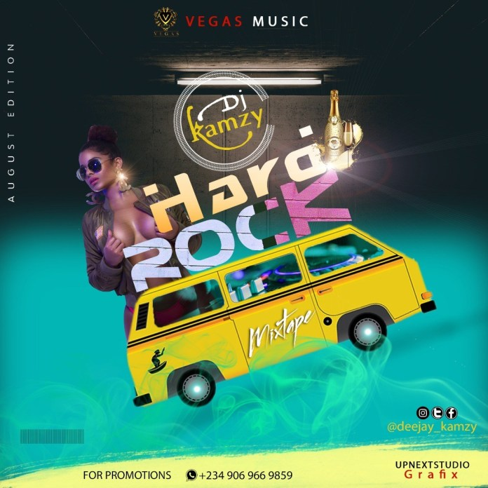 Dj-Kamzy-–-Hard-Rock-Party-Mix-August-Edition