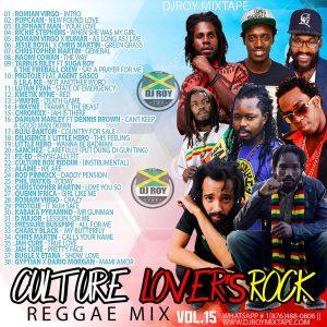 dj-roy-reggae-culture-lovers-rock-reggae mix-vol 15