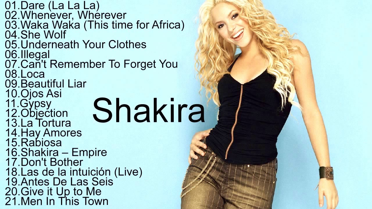 Shakira song try everything mp3 free download