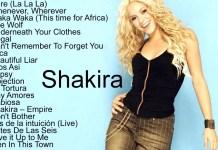 best of shakira mixtape download dj mix songs waka waka