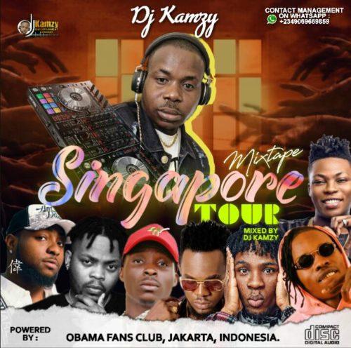 dj kamzy singapore tour mix