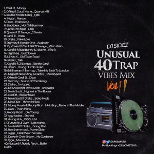 DJ Sidez Unusual 40 Trap Vibes Mix - Trap Music Mixtape Mp3 Download