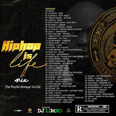 DJ Limbo Hip Hop Is Life Mix TPM Vol 24 - Hip Hop Mixtape 2020