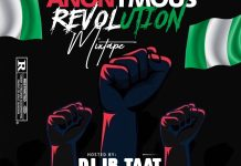 DJ IB Taat Anonymous Revolution Mixtape