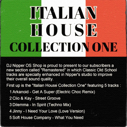 Italian House Collection One_500