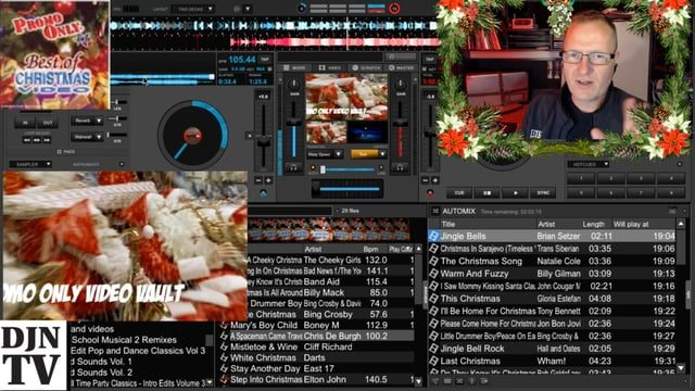 the christmas music video preview for holiday events with john young djntv djntv disc jockey news tv - Best Christmas Music Videos