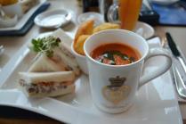 Meal on Royal Yacht Britannia - Edinburgh, Scotland