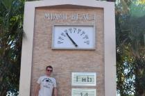 Miami Beach Clock - Miami, Florida - February 2013