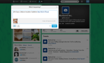 Twitter Example - Norbord