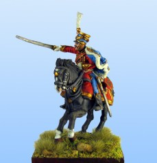 Napoleonic French 9th Hussar Officer